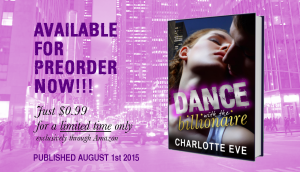 Dance with the Billionaire - preorder promo