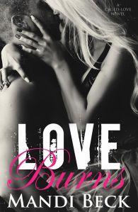LOVE BURNS COVER mandi beck
