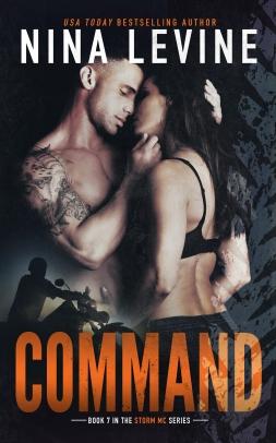 Command Book Cover Nina Levine